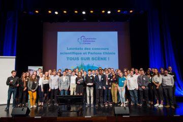 Lauréats 2019 des concours scientifique et Parlons chimie